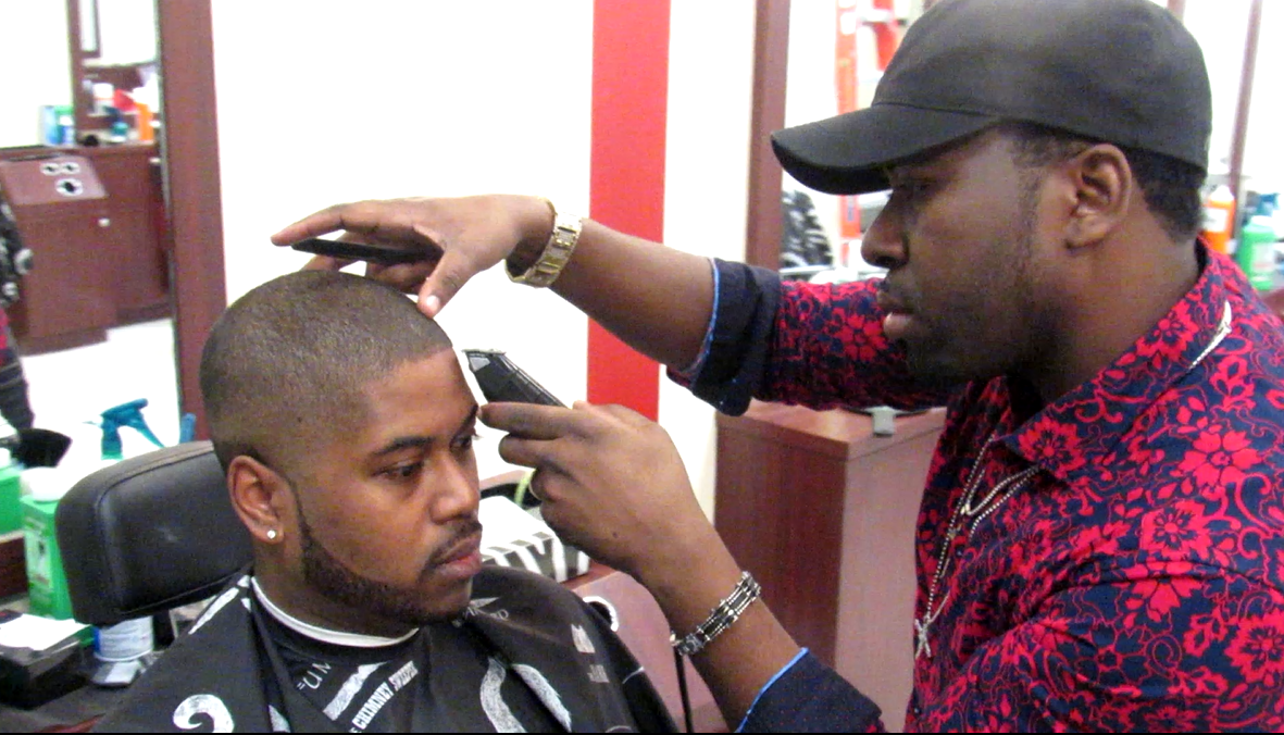 The Art of a Barbershop Shave